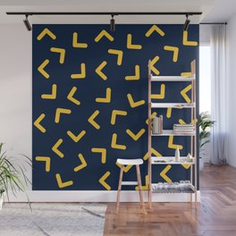 Boomerangs / V pattern Wall Mural