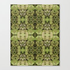 Forest fairy floral,nature, woodland, hippie, mandala, psychedelic Canvas Print