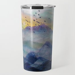 Mountain Sunrise Travel Mug