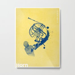 Symphony Series: Horn Metal Print