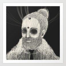 HOLLOWED MAN Art Print