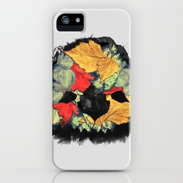 Death of Autumn iPhone Case
