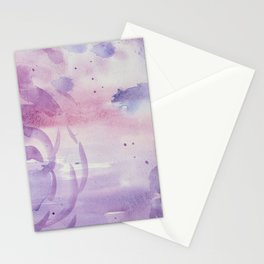 Plums and Pinks Stationery Cards