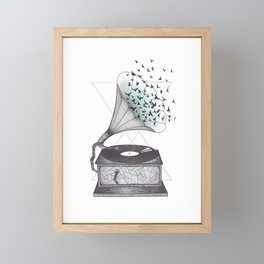Escape Framed Mini Art Print