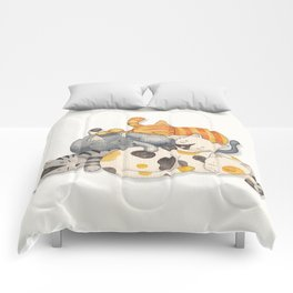 Cat Nap (Siesta Time) Comforters