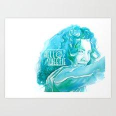 River Song Art Print