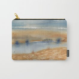 2 Colors - 3 Swans Carry-All Pouch