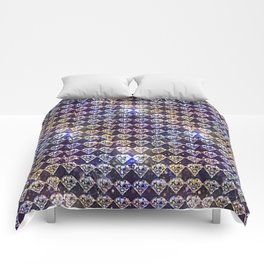 Diamonds, diamonds... Comforters