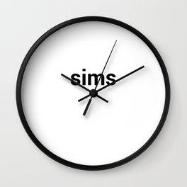 sims Wall Clock