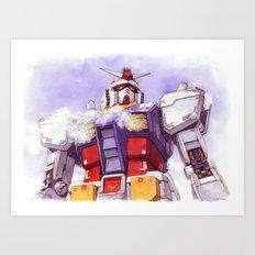 Gundam RX-78-2 Art Print