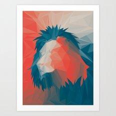 Courage 2 Art Print