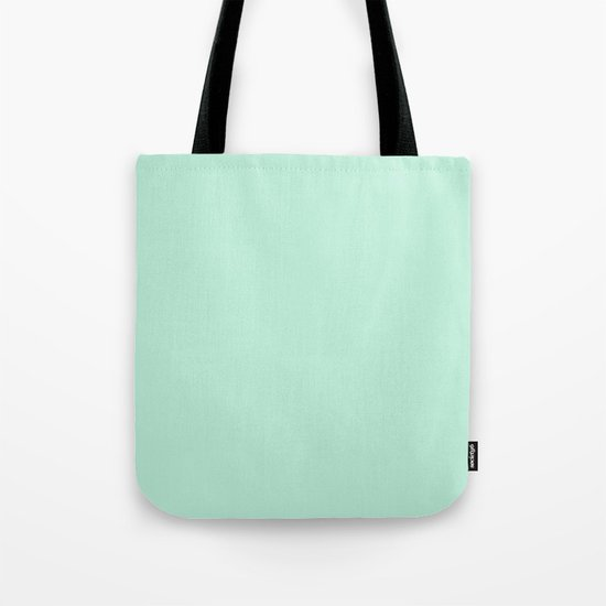 Mint Green Tote Bag