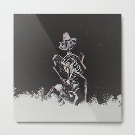skelly Metal Print