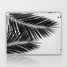 Palm Leaf Black & White II Laptop & iPad Skin