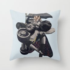 Wrap us in a blanket of nightshade Throw Pillow