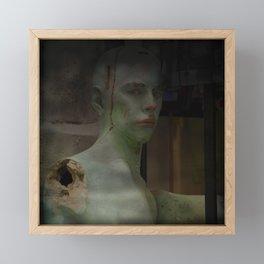 MYSTERIOUS GREEN THINGS I FOUND IN BARCELONA Framed Mini Art Print