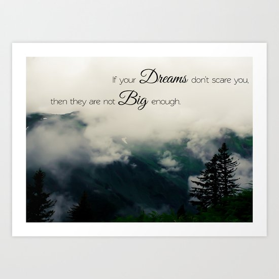 Dream Big II Art Print