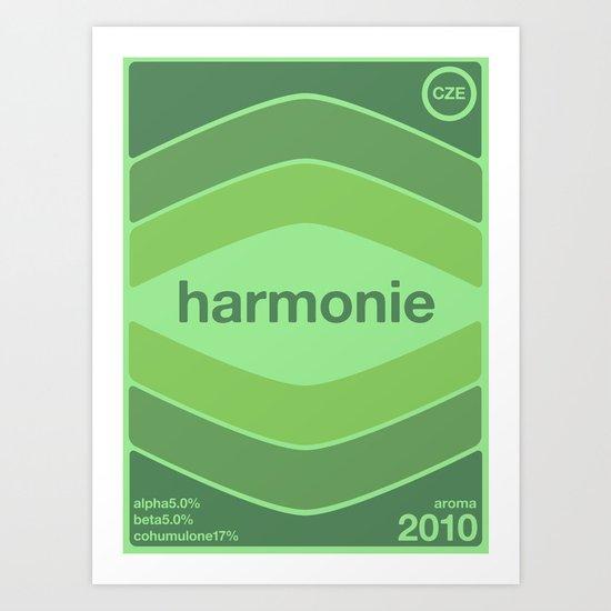 harmonie single hop Art Print