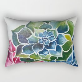 Succulents & Crystals Rectangular Pillow