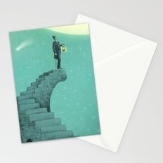 Moon Steps Stationery Cards