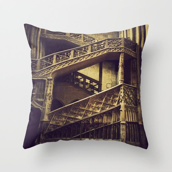 A Hogwarts Staircase Throw Pillow