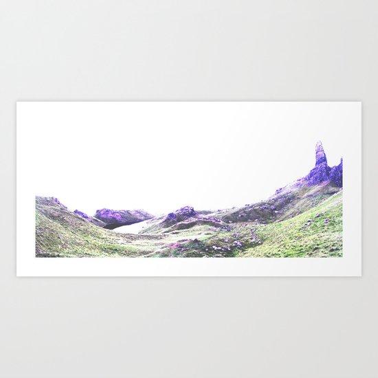 blue storr. Art Print