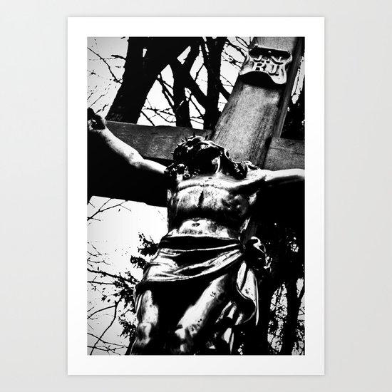 Forever dying. Art Print