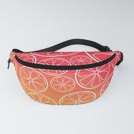 Citrus slices (red/orange) Fanny Pack