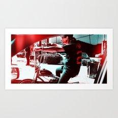 Misfit Art Print