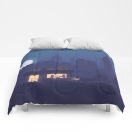 NY Pizza Comforters