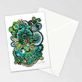 Tropical Illusion Stationery Cards