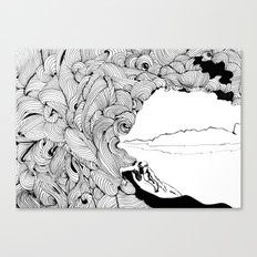 surfer dude Canvas Print