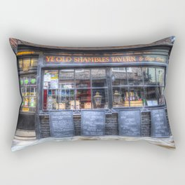 Ye Old Shambles Tavern York Rectangular Pillow