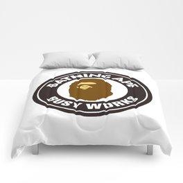 Bathing Ape BIG BUSY WORKS Comforters