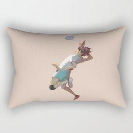 Oikawa jumping Rectangular Pillow