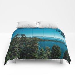 Lake Tahoe III Comforters