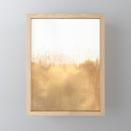 Brushed Gold Framed Mini Art Print