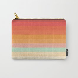 Rainbow Chevrons II Carry-All Pouch
