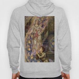 """Evelyn De Morgan """"Our Lady of Peace"""" Hoody"""