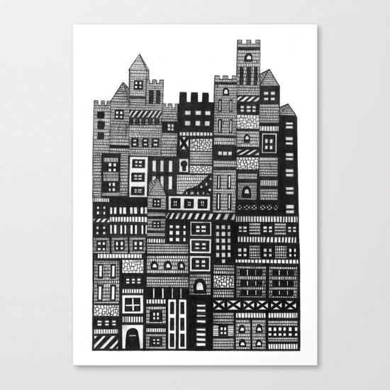 Castle Infinitus Canvas Print