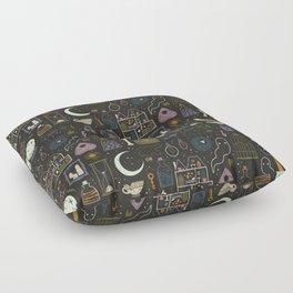 Haunted Attic Floor Pillow