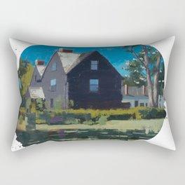 House of Seven Gables - Kevin Kusiolek Rectangular Pillow