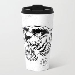 Tiger Rage - W&B Metal Travel Mug