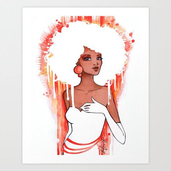 Tangee Art Print