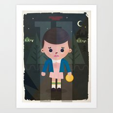 Stranger Things fan art Art Print