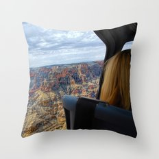 Take The Day and Fly - Part II Throw Pillow