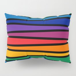 Spectrum Game Board Pillow Sham