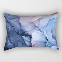 Captivating 1 - Alcohol Ink Painting Rectangular Pillow