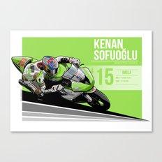 Kenan Sofuoglu - 2015 Imola Canvas Print