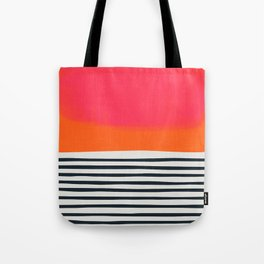 Sunset Ripples Tote Bag
